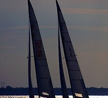 Sailing Lake Huron by cherylc1