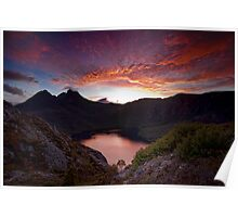 Fiery Cradle Mountain Poster