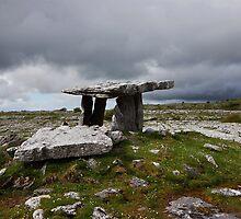 Poulnabrone Portal Tomb by Jim Dempsey