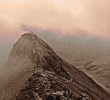 Striding Edge by JMChown