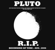 Pluto: Rest in Peace by mcovalt
