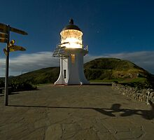 Cape Reinga. by Michael Treloar