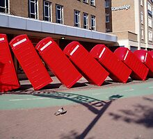 Phone Boxes in Kingston, Surrey by namsan