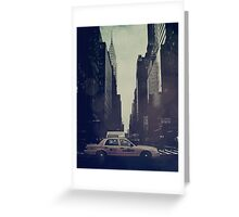 Vintage NYC Greeting Card