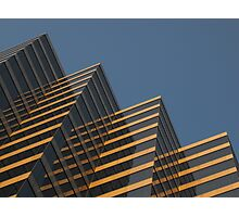 Angles and Reflections Photographic Print