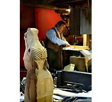 The Rocking Horse Maker Photographic Print