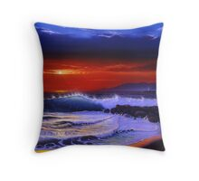 New jetty Throw Pillow