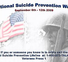 National Suicide Prevention Week Poster by leannasreflections