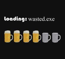 loading: wasted.exe by Herbert Shin