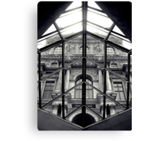 Through the Louvre Canvas Print