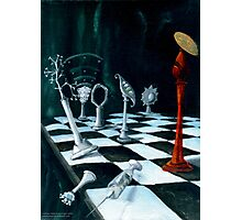 Science-Chess Accommodating Religion Photographic Print