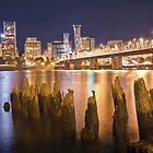 Portland City Skyline by failingjune