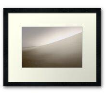 Dusk At The Dunes  Framed Print