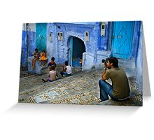 Children of Chaouen Greeting Card