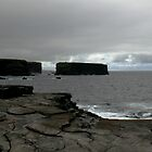 cliffs at kilkee by Kent Tisher