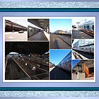 Railway  Stations and trains by glennmp