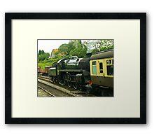 North Yorks Rail - Goathland Framed Print