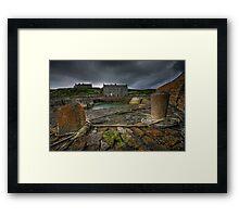 Keiss Harbour Framed Print