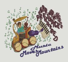 Music Moves Mountains by artbyjehf