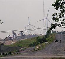 West Virginia Wind Farm by Allen Lucas