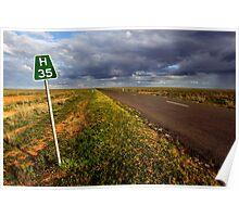The Long Paddock - Hay Plains Poster