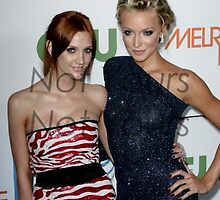 Ashley Simpson-Wentz & Katie Cassidy by abfabphoto