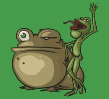 We all know frogs go... by Samuel Hardidge