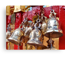 Temple Bells Canvas Print