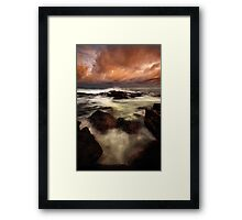 Coppertones at Temma Framed Print