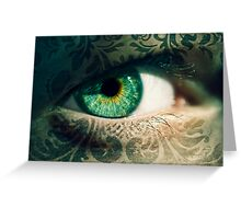 An Eye for Art Greeting Card