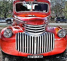 Red Ute by John Vandeven