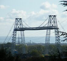 Transporter Bridge Newport by Joyce Knorz