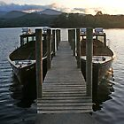 Derwent water boats by leephotoofyork