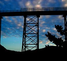Amarube Iron Bridge by Kevin Shannon
