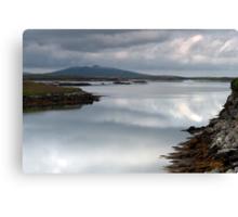 North Uist: Perfect Calm Canvas Print