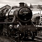 Stanier Class 5F (toned) by Paul Woloschuk