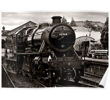 Stanier Class 5F (toned) Poster