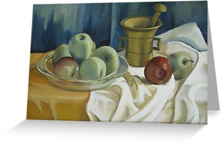 Green apples  by Elena Oleniuc