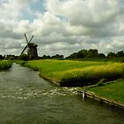 Dutch Windmill by Francisca Westerterp-Muñoz
