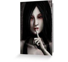Shhhh.... Greeting Card