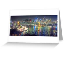 Lights, Camera , Action - Moods Of A City - THe HDR Experience Greeting Card