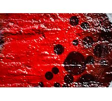 Graffiti Closeup on the textured wall Photographic Print
