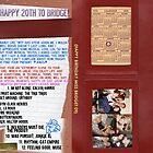Bridget's 20th inner cover album by VisualZoo