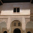 Palace within the Alhambra, Granada, Spain by Linda More