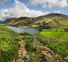 Buttermere from Buttermere Fell by eddiej