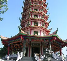 The Pagoda by Arvian Z