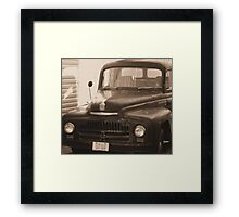 Project In Waiiting Framed Print