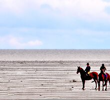 Horseback Riding by MaluC