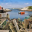 Peggy&#x27;s Cove, Nova Scotia by Marlene Hielema