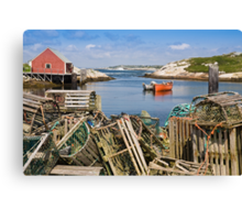 Peggy's Cove, Nova Scotia Canvas Print